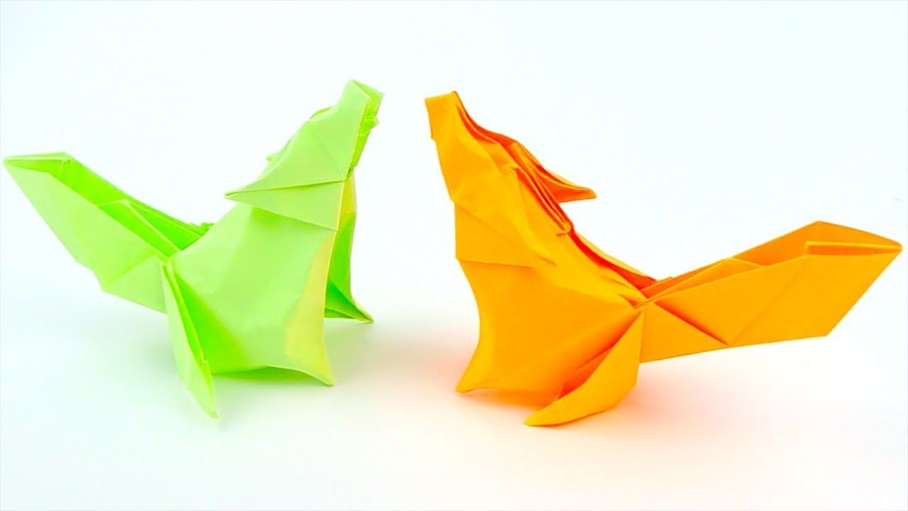 How To Make Paper Wolf | Origami Wolf | Easy Origami Tutorial Step by Step
