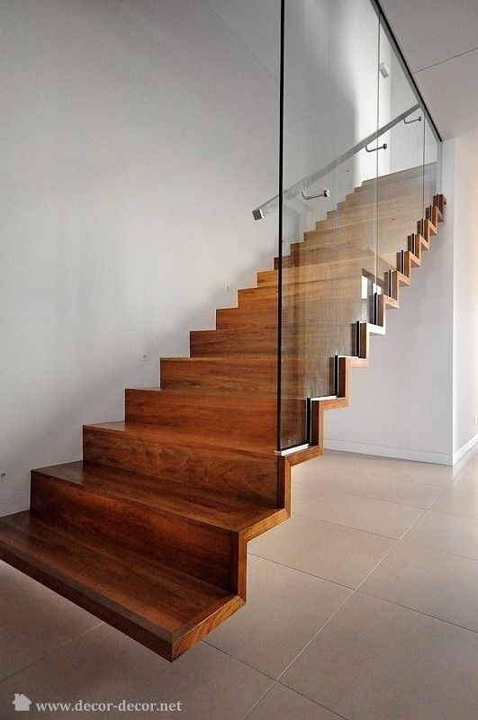Best Hanging Wooden Stairs Although They Wouldn T Fit My Place Thay Look Amazing Escaleras 400 x 300