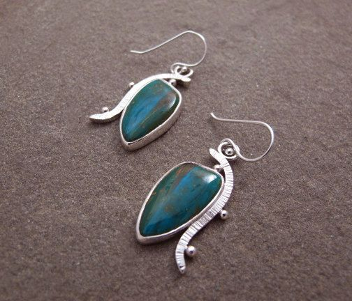A beautiful pair of Peruvian opals: the Meandering earrings: https://www.etsy.com/listing/226071101/blue-peruvian-opal-earrings-sterling?ref=shop_home_active_4
