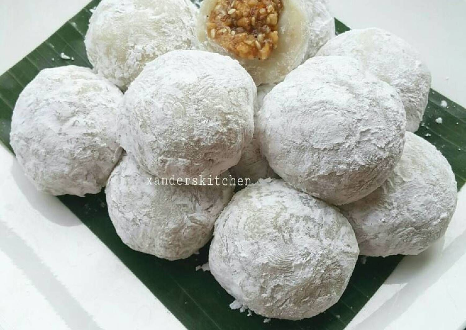 Resep Mochi Isi Kacang Tanah Oleh Xander S Kitchen Resep Kue Camilan Resep Kue