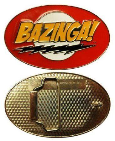 Big bang theory TV BELT BUCKLE Collectible great gift Cosplay BAZINGA