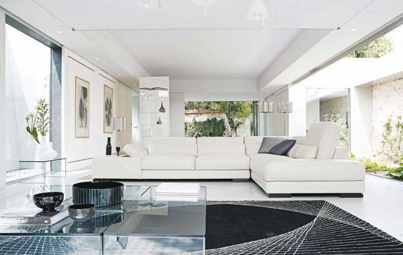 Living Room Inspiration 120 Modern Sofas By Roche Bobois Part 2 3 Modern White Living Room Condo Living Room Modern Furniture Living Room