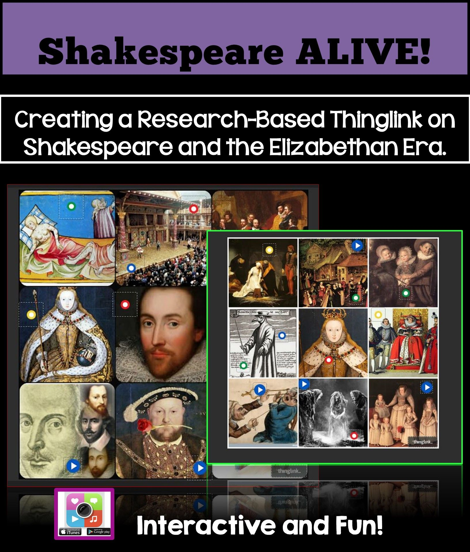 Shakespeare Research And The Elizabethan Era Tech Project