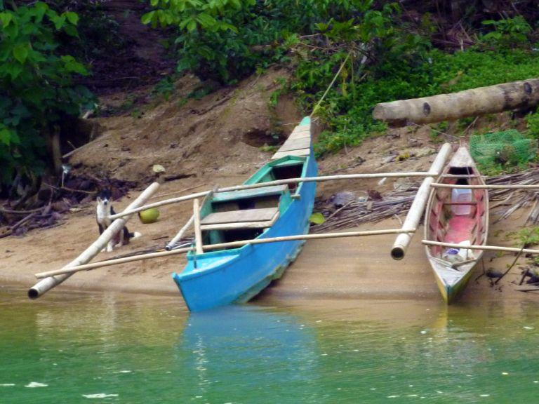 River Bank. Bohol, Philippines ~ World Footpath