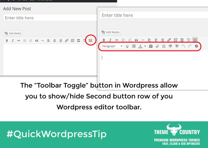 Toggle Button in Wordpress Editor Toolbar | Quick ...