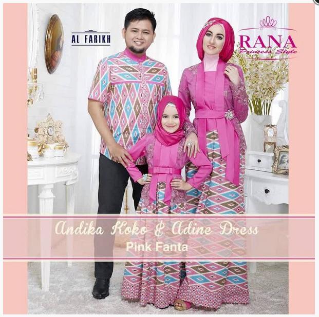 Baju Batik Couple Keluarga Besar