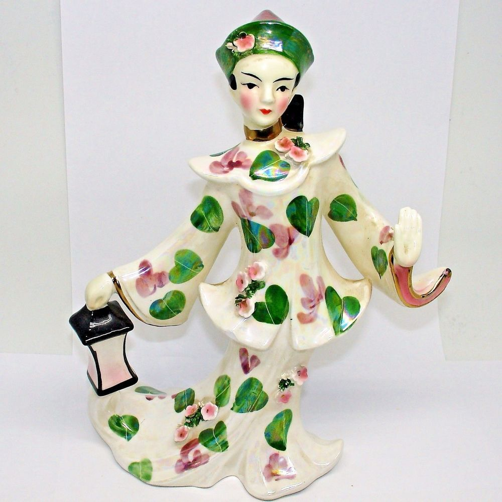 Lefton geisha girl figurine