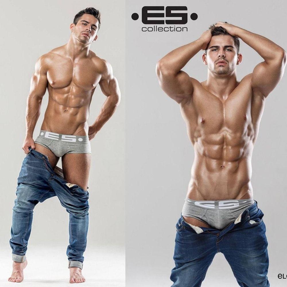 Hot! Men ES Brand Trunk Best Selling Brand Men's Underwear Classic ...
