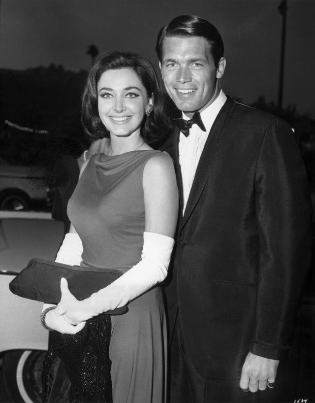 Chad Everett and Shelby Grant were married May 22, 1966 until her death on June 25, 2011.