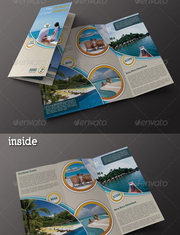 Travel Agency 3fold Brochure