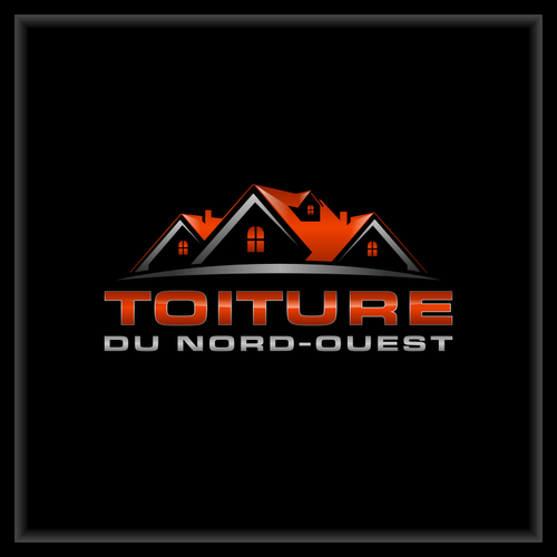 Best Toiture Du Nord Ouest New Logo Design For A Roofing Company Construction Logo Design 640 x 480