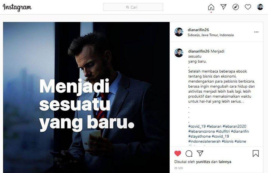 4 Cara Copy Paste Postingan Komentar Instagram Update Instagram Perasaan Membaca