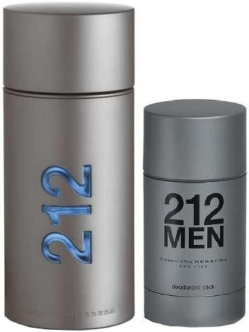 970995746 212 Men Gift Set by Carolina Herrera Cologne for Men 2 Piece Fragrance Set  Includes: 3.4 oz Eau de Toilette Spray + 2.1 oz Deodorant St - from my  #perfumery