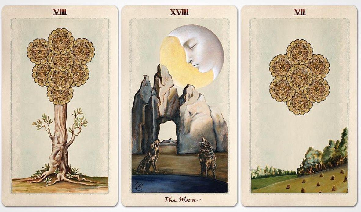 Kete Moon Deck Poker Spielkarten
