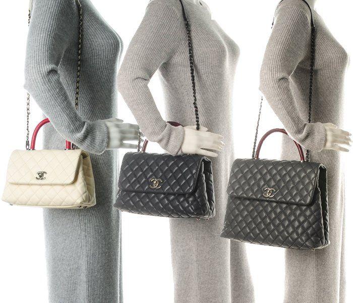 31dea1b24759 Chanel Black Coco Handle Mini and Small Bags 2 | accessories | Coco chanel  bags, Coco handle, Chanel coco handle