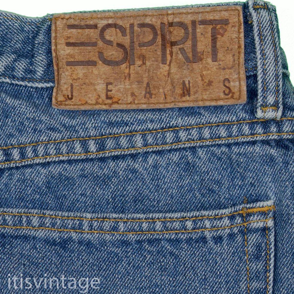 Esprit Women S Jeans Vintage 80 S Made Usa Relaxed Tapered Talon Zip Denim 13 14 Women Jeans Vintage Denim Mens Jeans