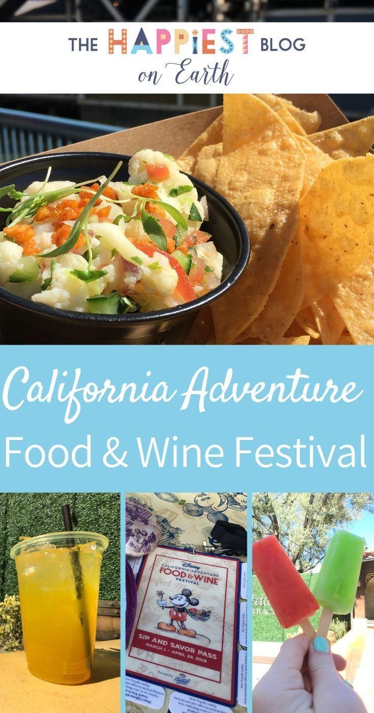 California Adventure Food & Wine Festival 2019 #disneylandfood