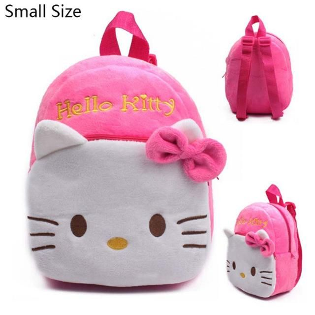 Plush Cartoon Kids School Bags For Children Girl School Backpacks For  Kindergarten Baby mochila Infant School Bags Boy Backpacks f503176aaa2a9