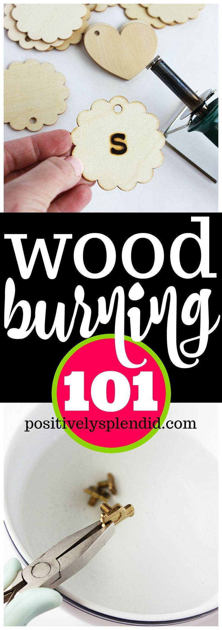 10 Wood Burning Tips for Beautiful Wood Burning Projects #burnedwoodstenciling