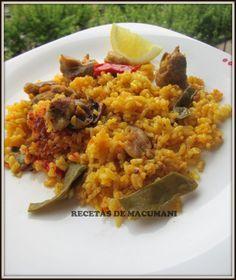Paella En Olla Express Instant Pot Recipes Best Instant Pot Recipe Food Dishes