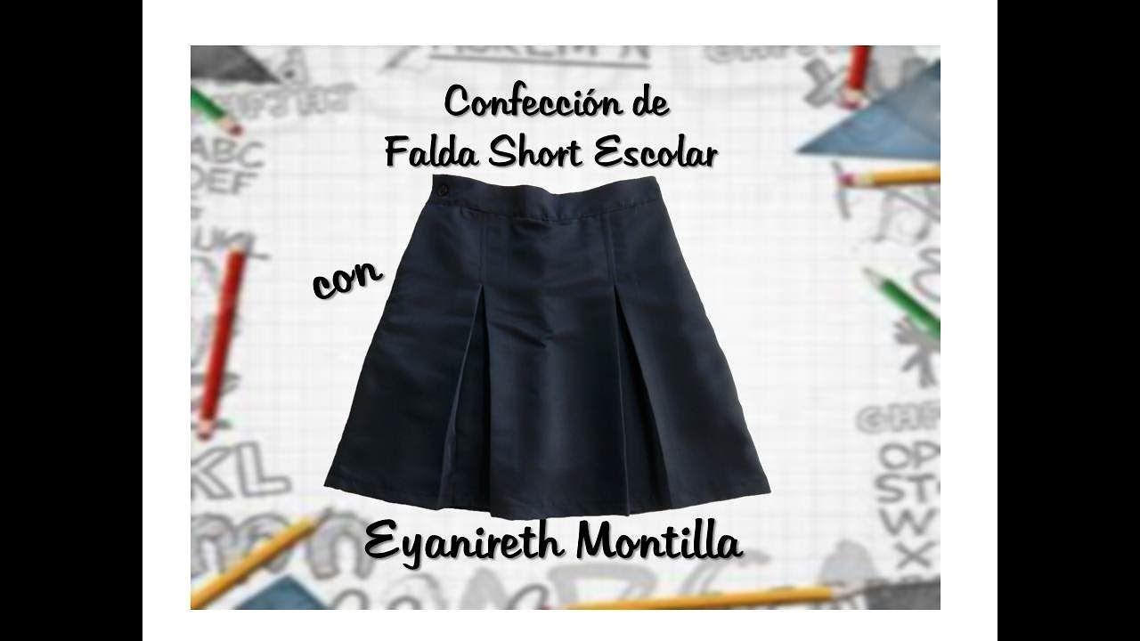 9e9b25d76f Confección de Falda Short Escolar Faldas De Uniforme Escolar