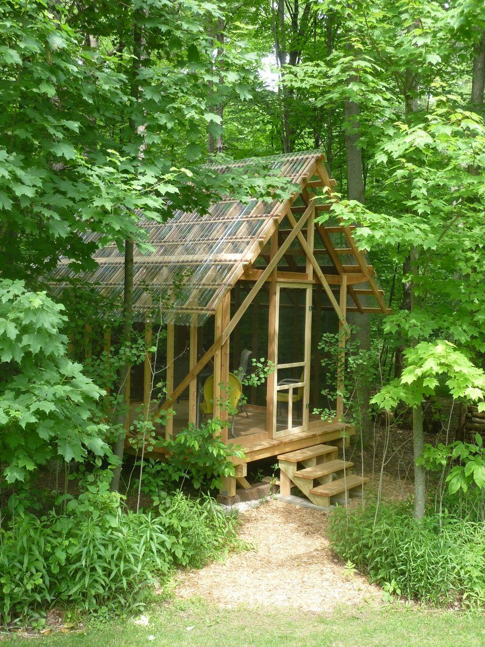 Garden Sheds Vermont fern house in wisconsin built from vermont architect robert