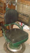 BH055 Antique Vtg Ritter Dentist Chair Tattoo Parlor