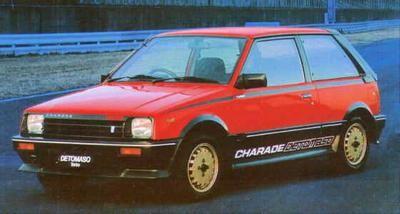 Hot Hatch Daihatsu Charade De Tomaso Turbo 84 Cars Pinterest