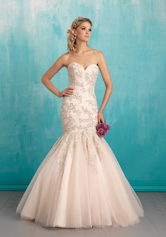 Allure Bridals 9300 Mermaid Wedding Dress
