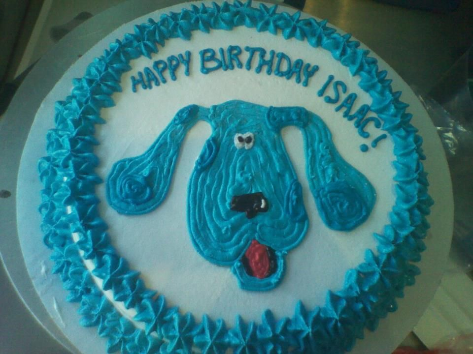 Blues clues ben jerrys ice cream cake cake ben