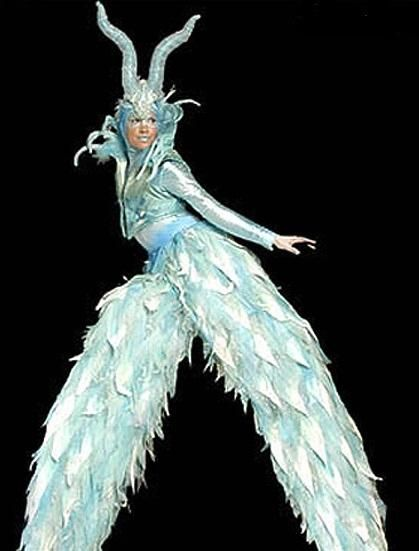 Ice Demon Stilt Walker.  sc 1 st  Pinterest & Ice Demon Stilt Walker. | Yuletide Nightmares Christmas Horror ...