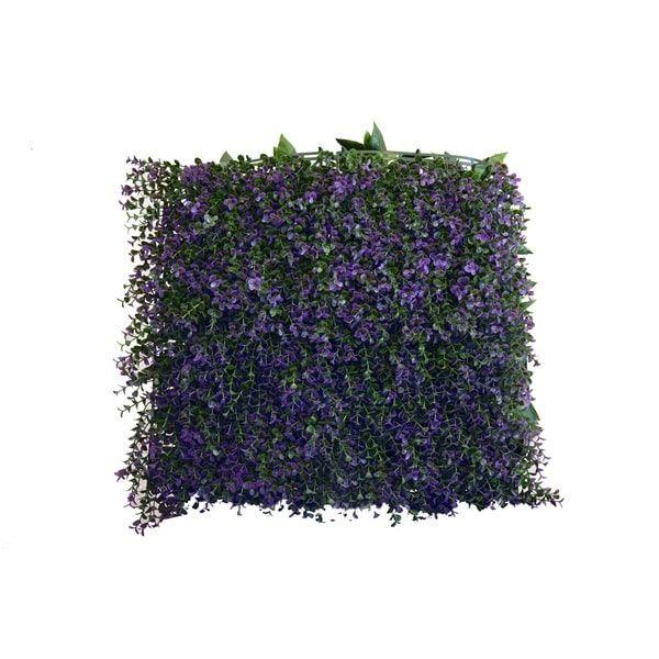 Greensmart Decor Lavanda Artificial Foliage Wall Panels (Set Of 4) |  Overstock.com