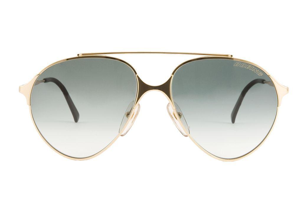 Classic Aviator - Gold metal frame sunglasses vintage Carrera ...