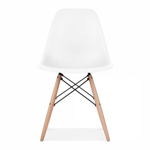 Dsw Style Plastic Dining Chair White Leg Style Natural Eames