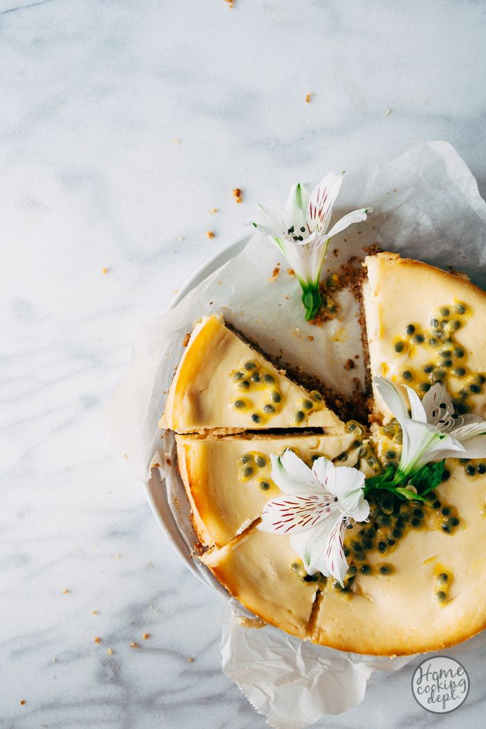 Mango Cheesecake Recept Met Passievrucht Recept Voedsel Ideeen Passievrucht Cheesecake