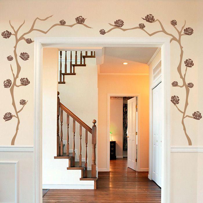 Wall Decals: Climbing Dahlia Branch   Future House ...