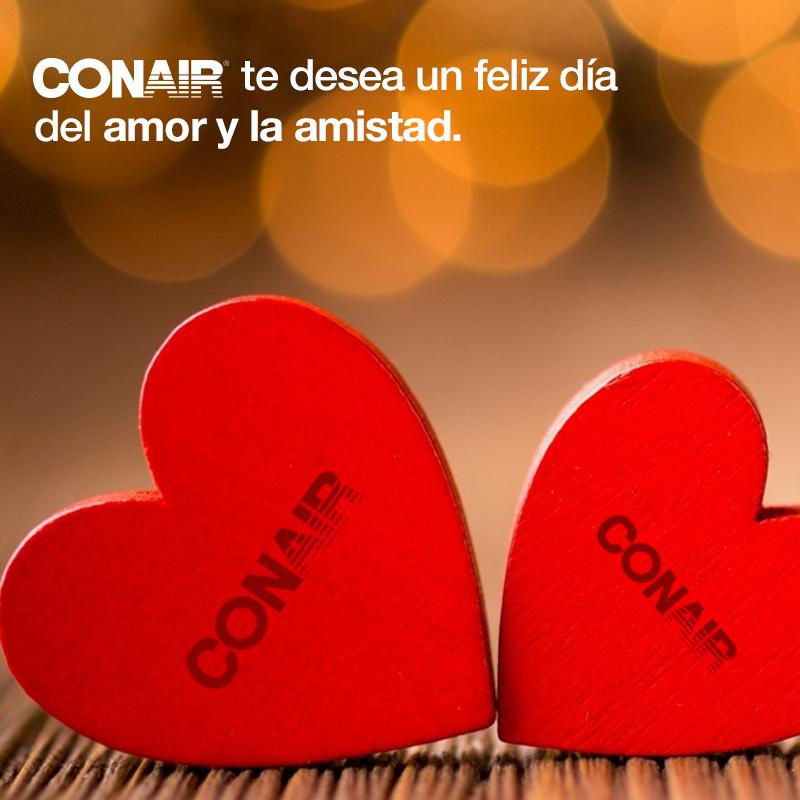 #CONAIRMX #14febrero #amor #amistad #rojo #sanvalentin #corazones