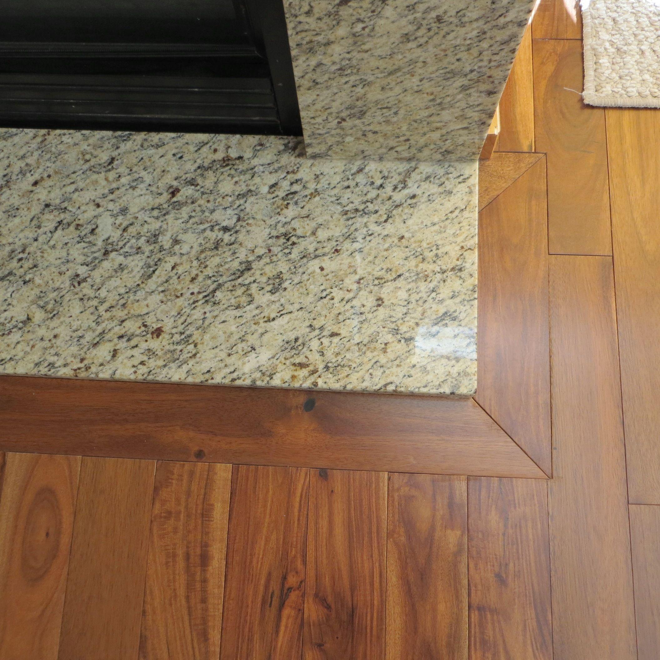 Fireplace Hearth Floor Molding Floor Trim Wood Floors