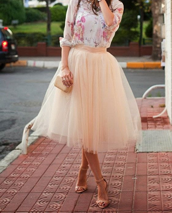 Adult Tulle Skirt , Blush tulle skirt , Ladies tutu,Adult tutu,Bridal Shower ,engagement tulle skirt