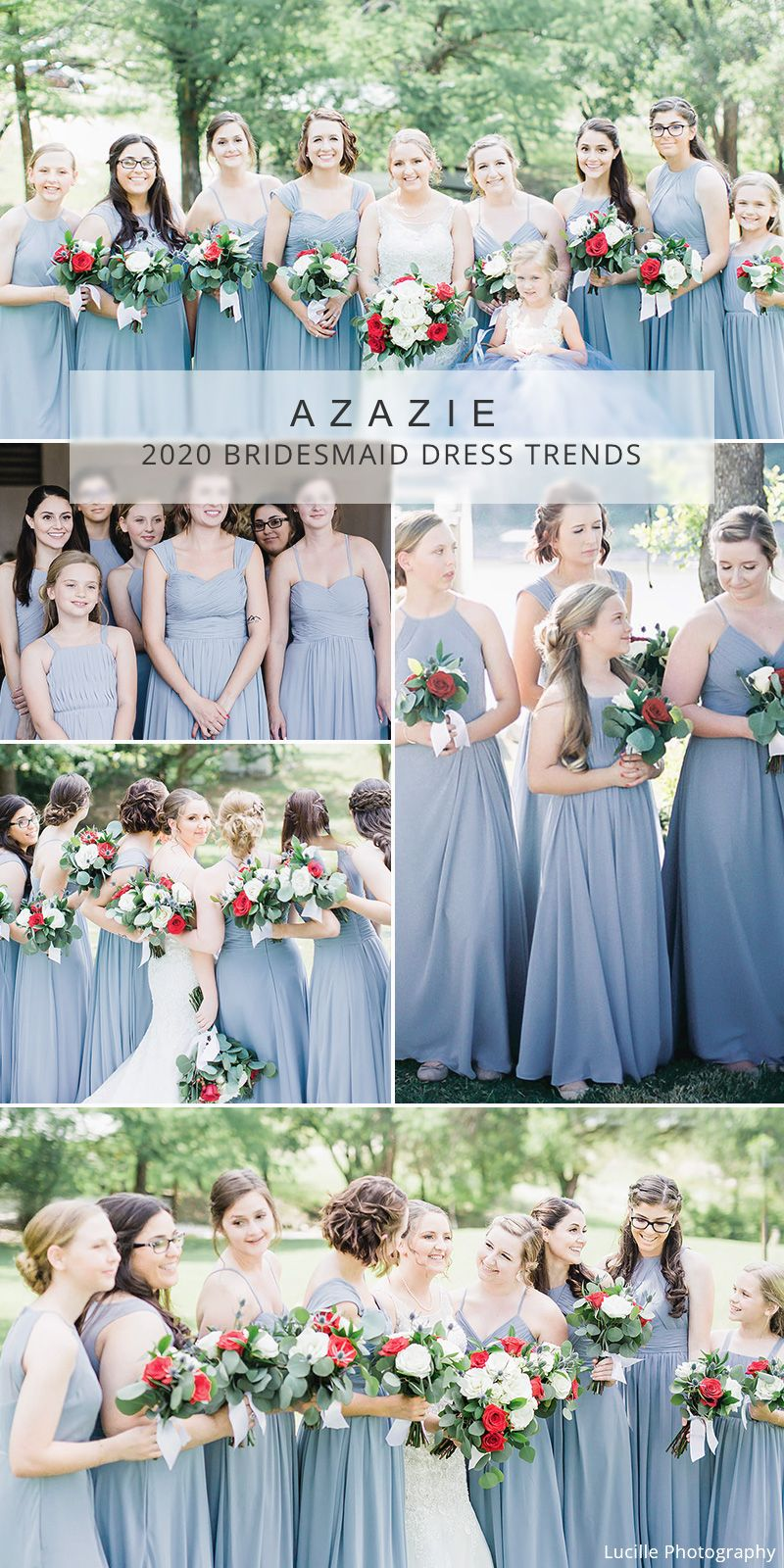 Dusty Blue Bridesmaid Dresses For Spring And Summer Wedding Bridesmaid Dresses Dusty Blue Bridesmaid Dresses Blue Bridesmaid Dresses