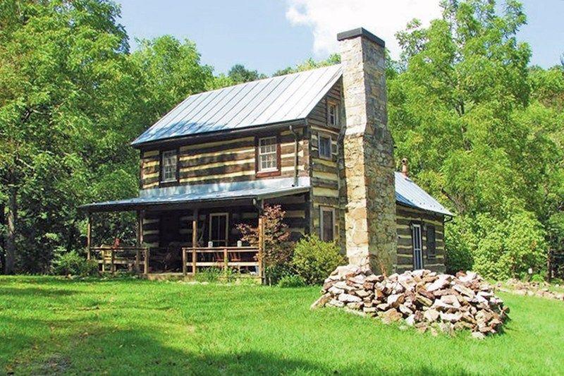 1802 Log Cabin In Capone Bridge West Virginia Cabins in
