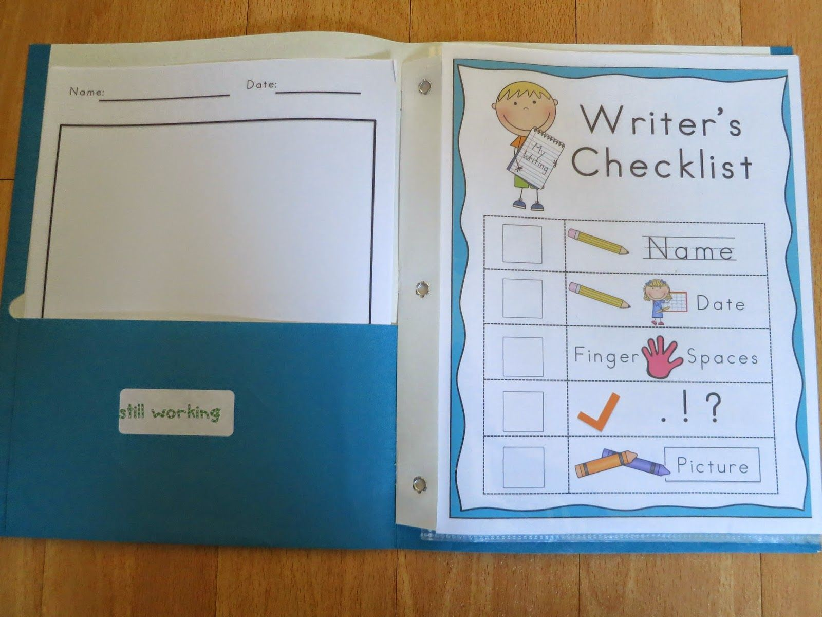 A great resource for writing folders. Has everything I\'d need for my ...