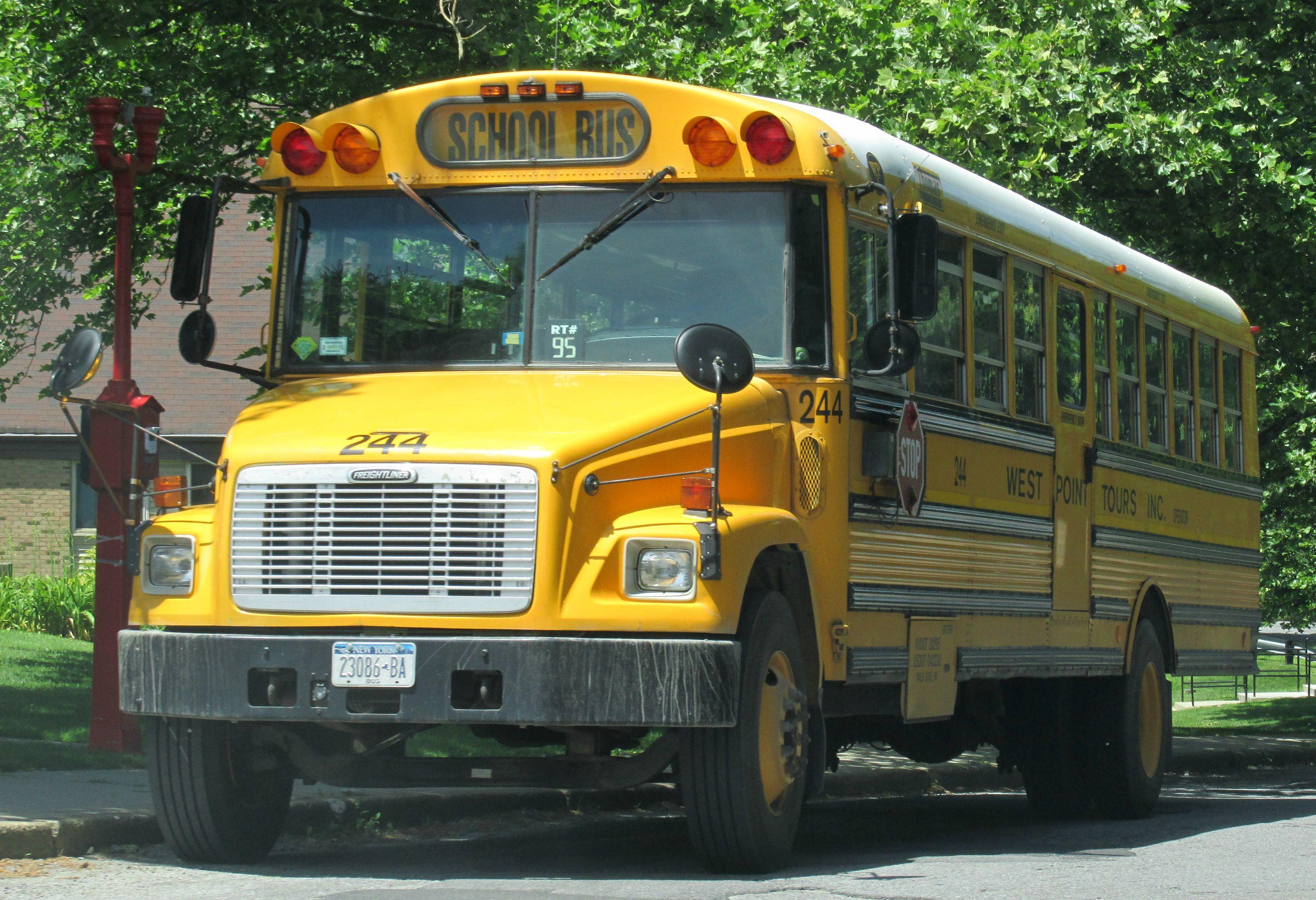 West Point Tours School Bus