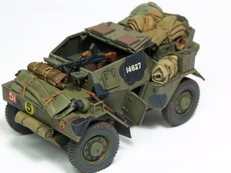 MiniArt 1//35 Dingo Mk.1b scout car with crew # 35067