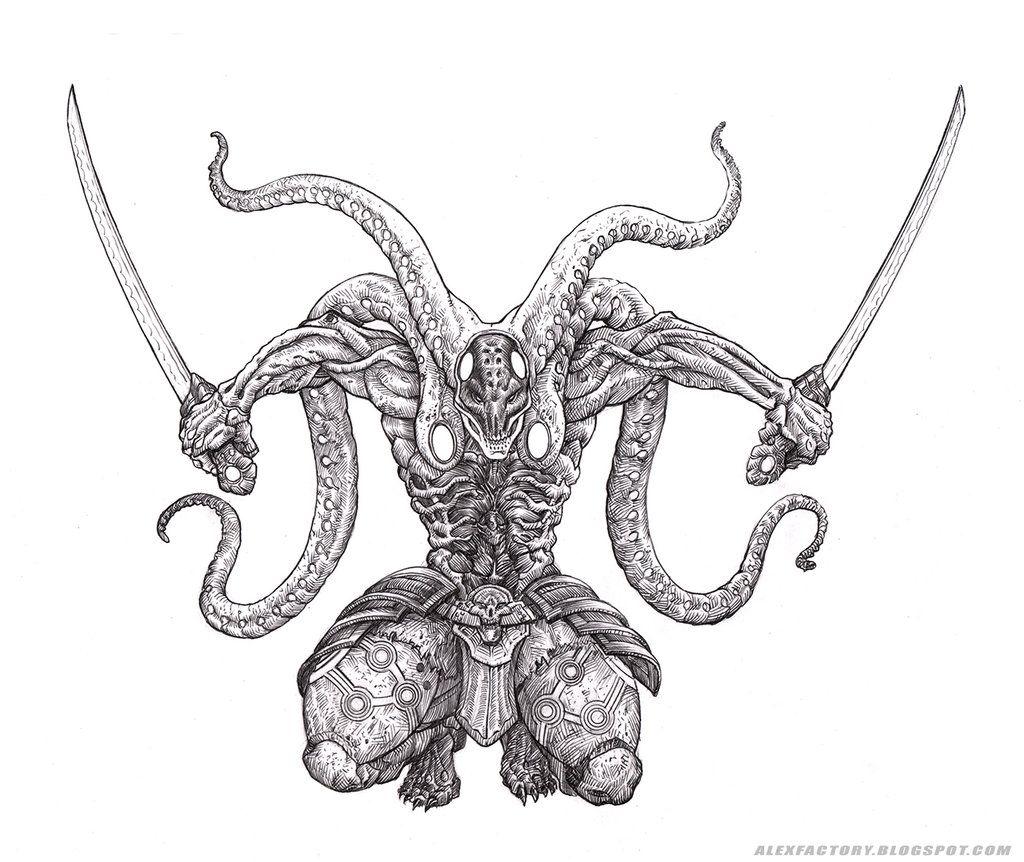 Yoshimitsu Character Design : Yoshimitsu tekken by alexfactory