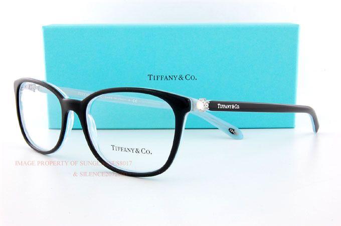 873d2d005d2b Brand New Tiffany   Co. Eyeglass Frames 2109HB 8193 Black SZ 53 Women