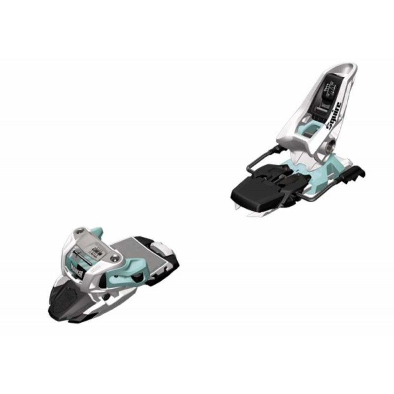Marker Squire 11 Ski Bindings -- White/mint/black