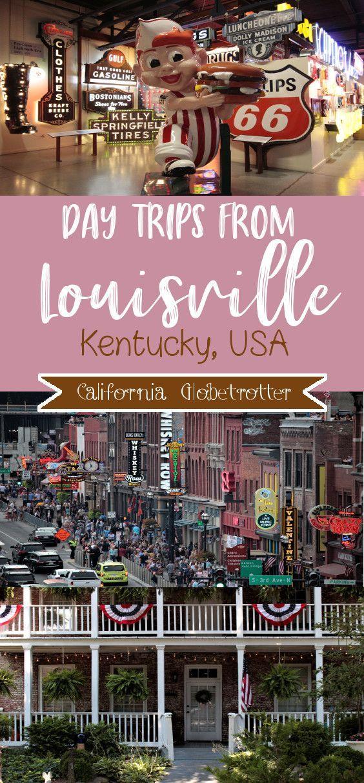 Day Trips from Louisville -  Day Trips from Louisville, KY | Things to do near Louisville | Bourbon, Horses & History | Kentucky - #AdventureTravel #CultureTravel #Day #louisville #NightlifeTravel #TravelPhotography #trips