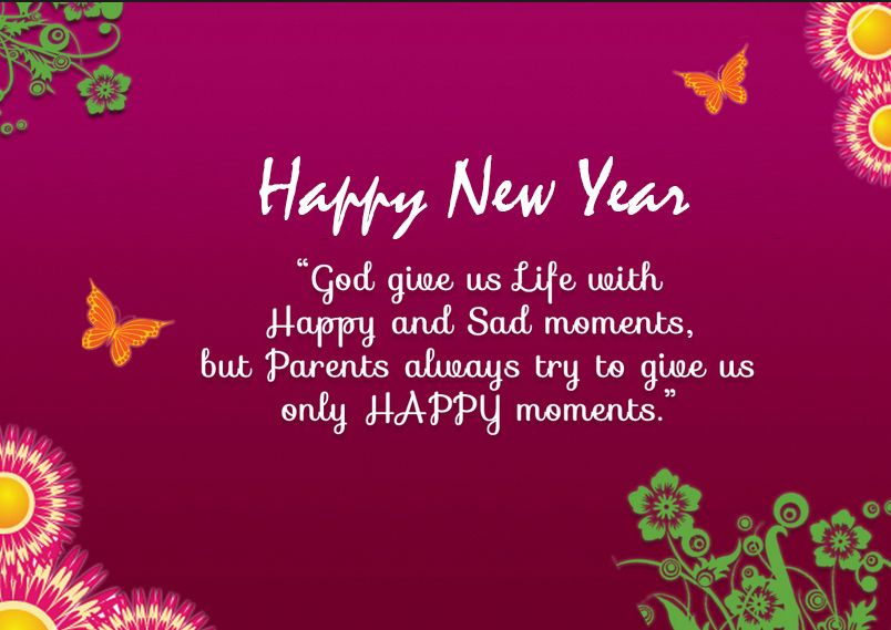 in this post we share with you happy new year greetings pictures for parents which