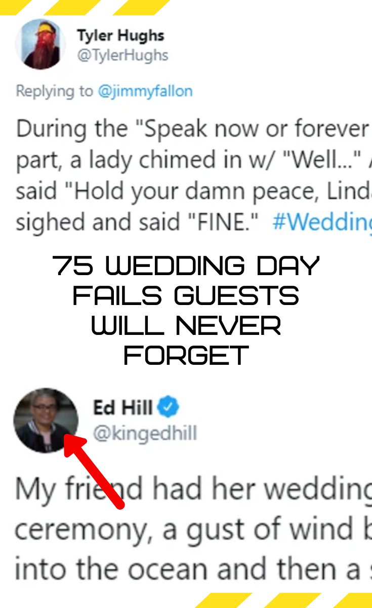 75 wedding day fails guests will never forget